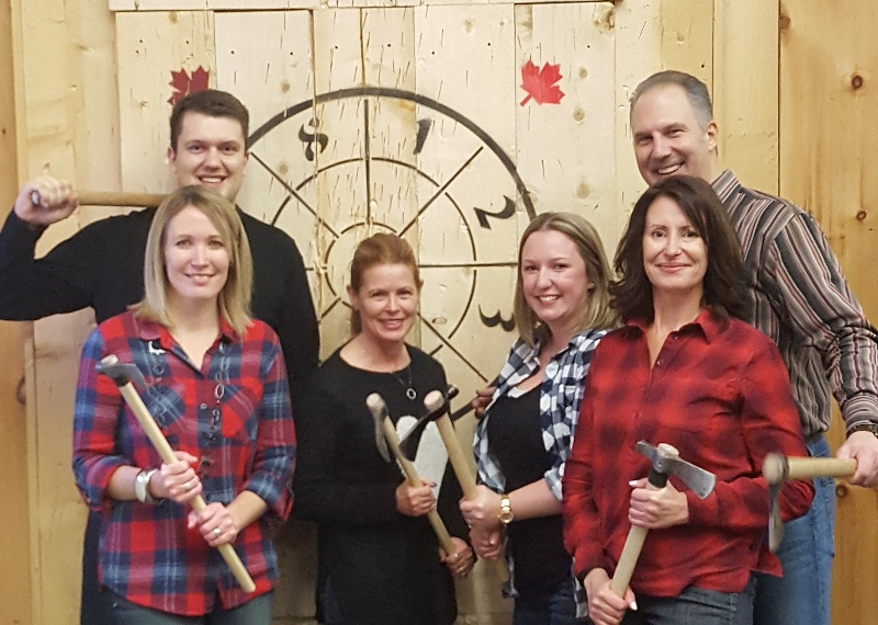 Outstanding Personal Injury Law Firm – And Outstanding Axe Throwers!