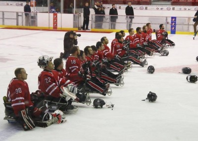 Rock the Sled - Team Canada