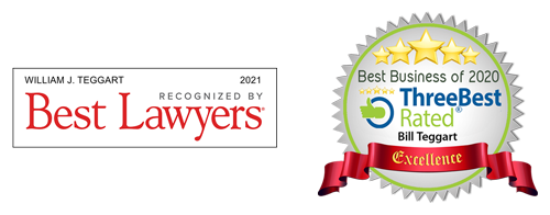 Best Lawyers and ThreeBest Rated Award Logos